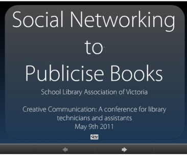 Prezi-Social Networking to Publicise Books