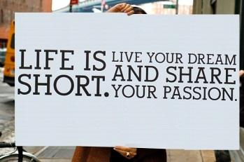 life manfesto - life is short focus