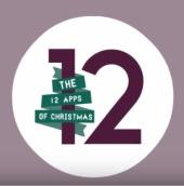 12appsofChristmasmas logo
