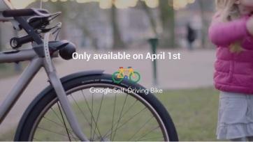 Google self drive bicycle
