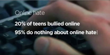 From YouTube vid - Click against hate